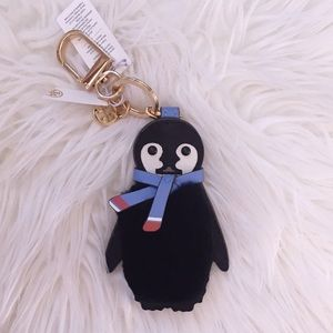 Tory Burch Pete the Penguin key fob/keychain
